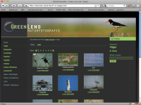 Screenshot Greenlens Naturfotografie